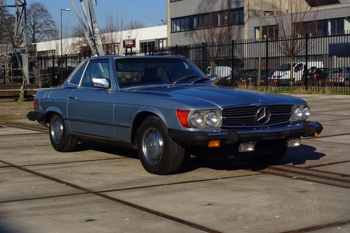 Mercedes benz 450sl roadster 1975 catawiki for 1975 mercedes benz 450sl convertible