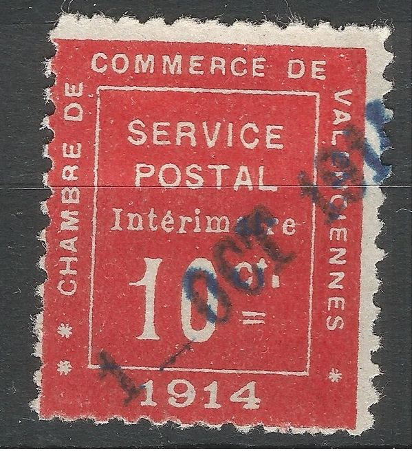 France 1914 war stamp 10c chamber de commerce catawiki for Chamber de commerce