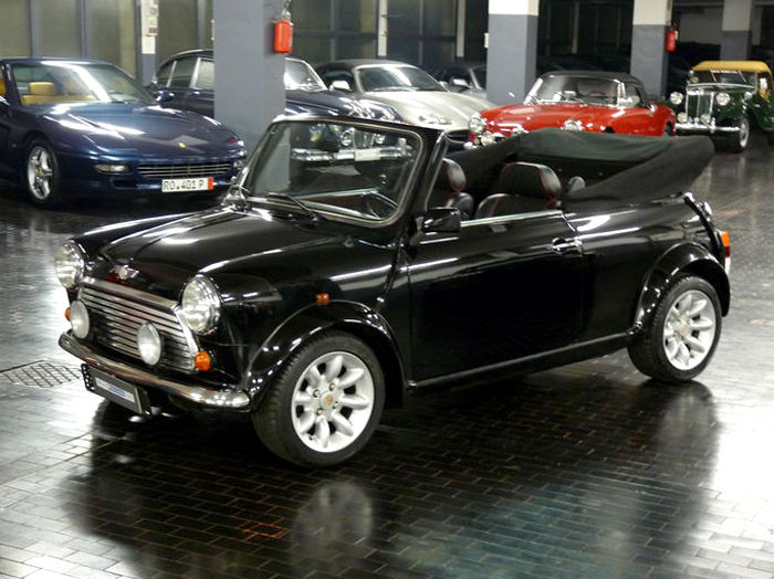 austin rover mini cooper 1300 cabriolet 1995 catawiki. Black Bedroom Furniture Sets. Home Design Ideas