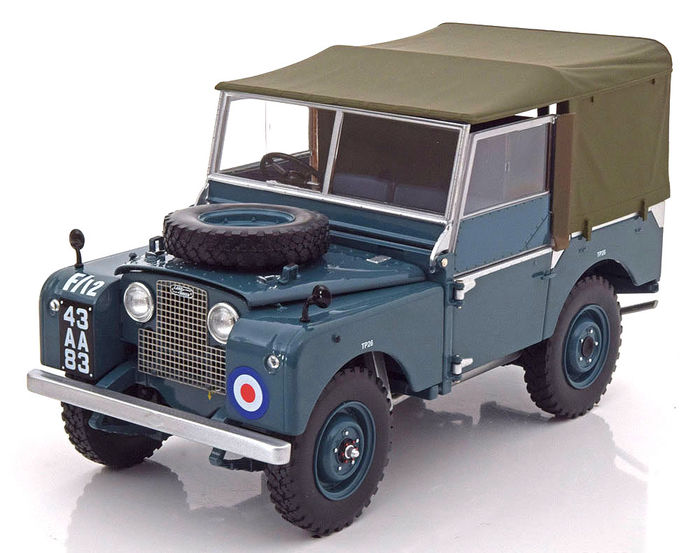 minichamps scale 1 18 land rover series 1 raf 1948. Black Bedroom Furniture Sets. Home Design Ideas