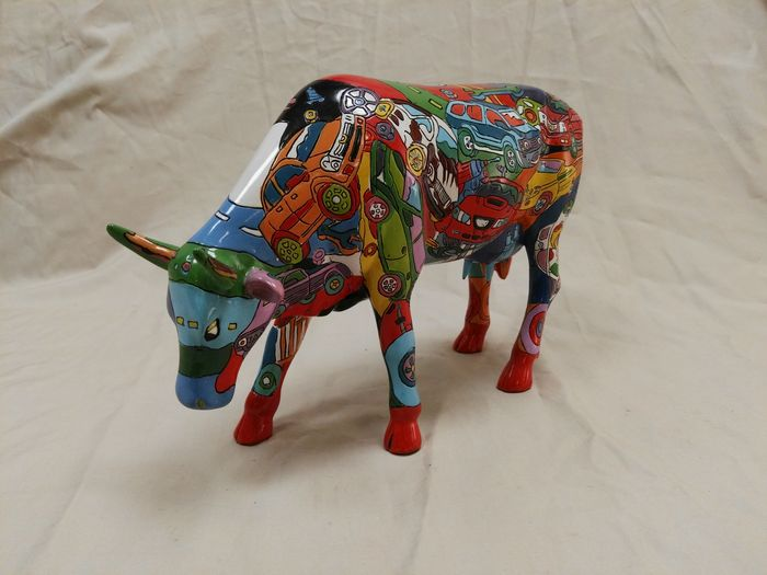 Kelly ross cowparade brenner mooters decoratie koe 28 cm for Decoratie koe