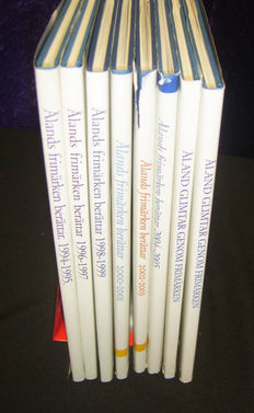 Aland 1994/2005 - Collection of 8 year books