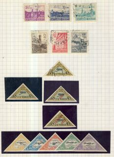 Estonia 1919/1940 - Advanced collection on 6 leaves