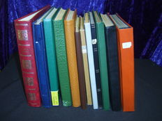 World - Batch in 12 stock books and albums including Germany, Austria, stamp booklets and more