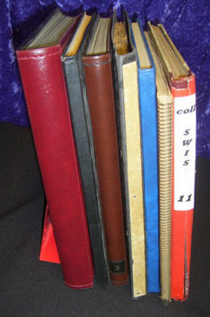 World - Batch in 7 stock books including Germany and Switzerland