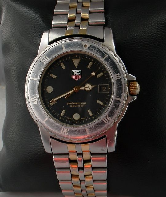 tag heuer professional mens 1990s catawiki