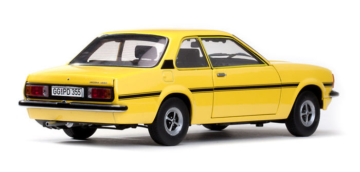 sun star scale 1 18 opel ascona b sr yellow catawiki. Black Bedroom Furniture Sets. Home Design Ideas