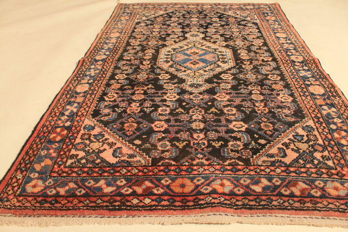 Alter persischer art deco teppich malayer 110cm x 160cm - Art deco teppich ...