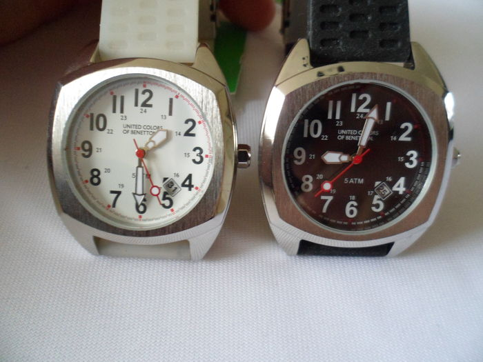 United colors of benetton 2 watches mens wrist watches catawiki for Benetton watches