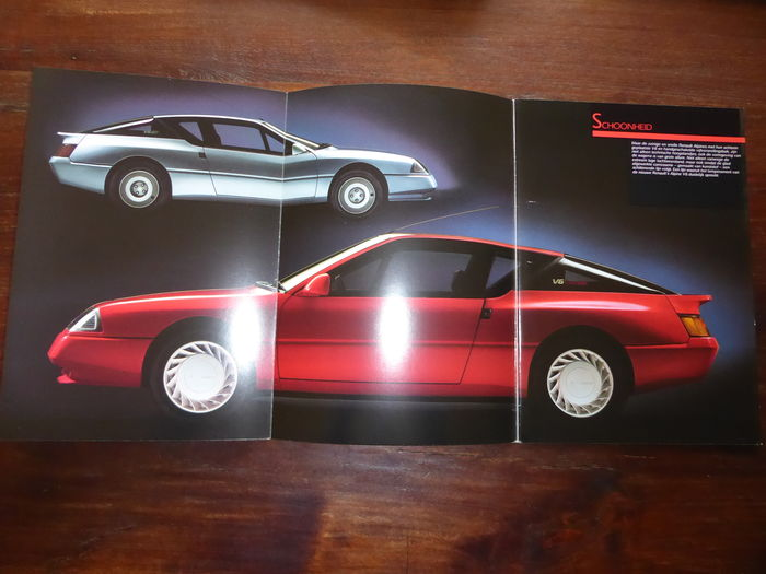 brochure renault alpine v6gt v6 turbo 1988 catawiki. Black Bedroom Furniture Sets. Home Design Ideas