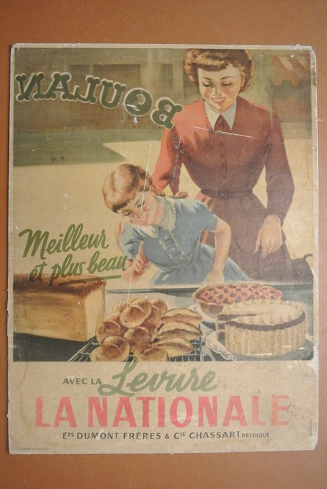 La nationale boulangerie belle photo d coration ann e for Decoration murale annee 50