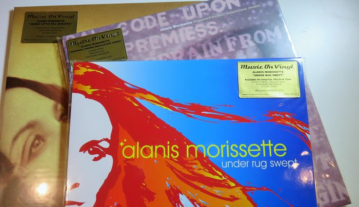 Alanis Morissette Great Lot Of 3 Limited Numbered