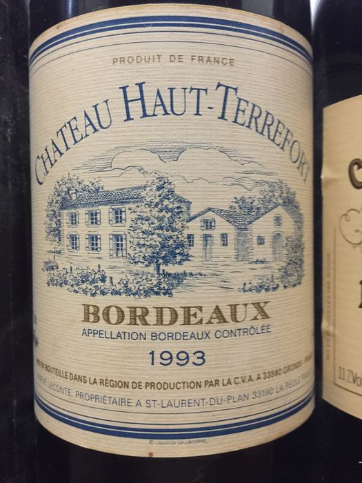 1990 up to 1998 mix of bordeaux in total 12 bottles catawiki - Bordeaux mixture ...