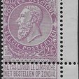 Stamp auction (BE)
