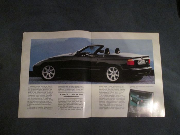 bmw lot brochures 4x 750 850 i z1 1988 1990 catawiki. Black Bedroom Furniture Sets. Home Design Ideas