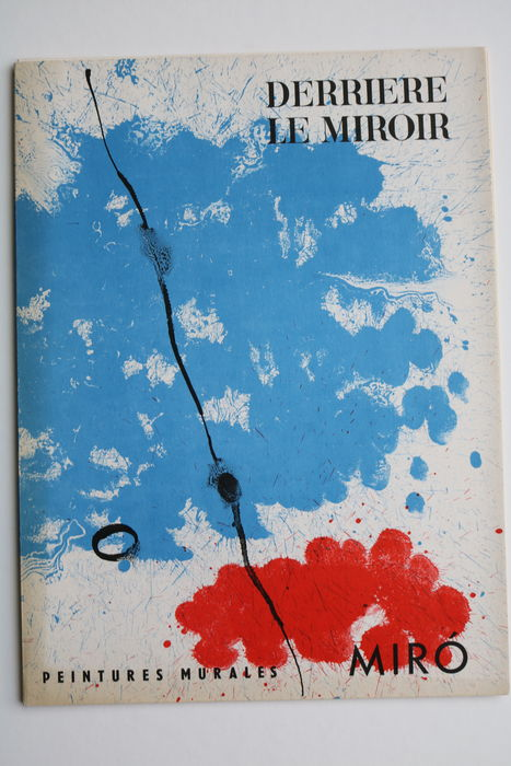 Mir derri re le miroir no 128 1961 catawiki for Miro derriere le miroir