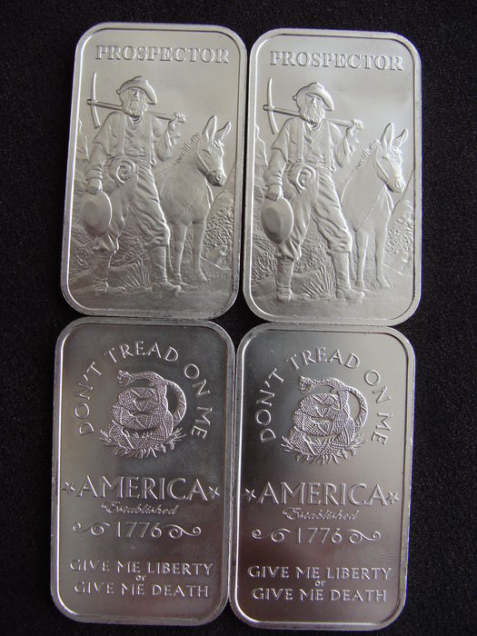 Silver Amounts (solid pure silver)