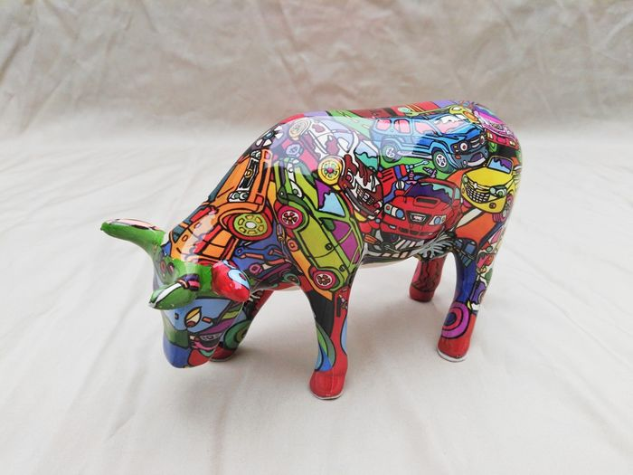 Kelly ross cowparade brenner mooters decoratie koe for Decoratie koe