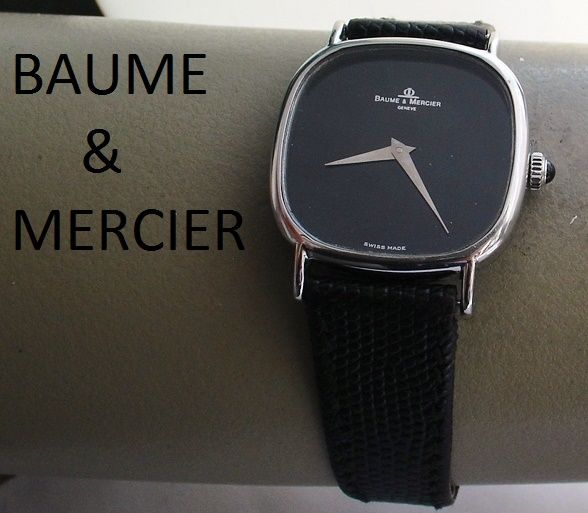 baume et mercier montre pour homme ann es 1980. Black Bedroom Furniture Sets. Home Design Ideas