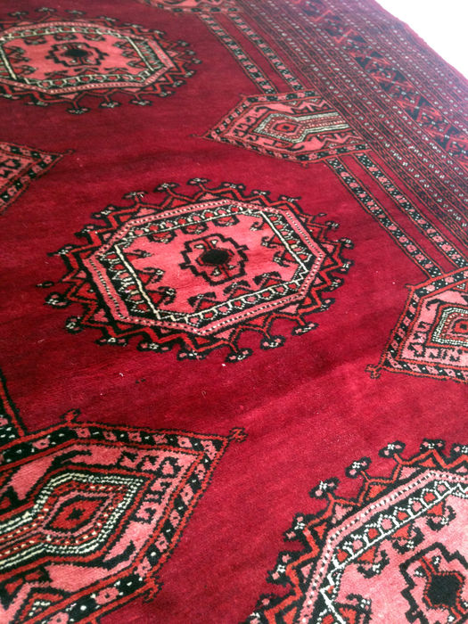 Alfombra bochara de pakist n 208 x 123 cm catawiki for Alfombras pakistan