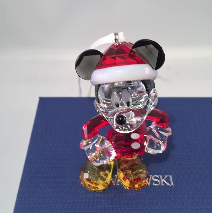 Swarovski disney mickey mouse d coration de no l catawiki for Decoration noel mickey