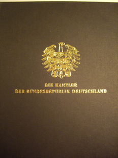 Germany - Eight commemorative medals chancellors of the Federal Republic of Germany (set) - Gold
