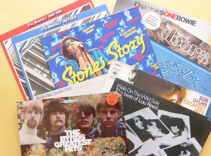 Nice Set Of 10 Quot Best Of Greatest Hits Quot Albums Total Of