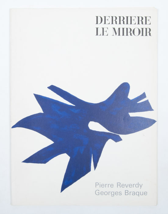 Derriere le miroir george braque 1963 catawiki for Derriere le miroir