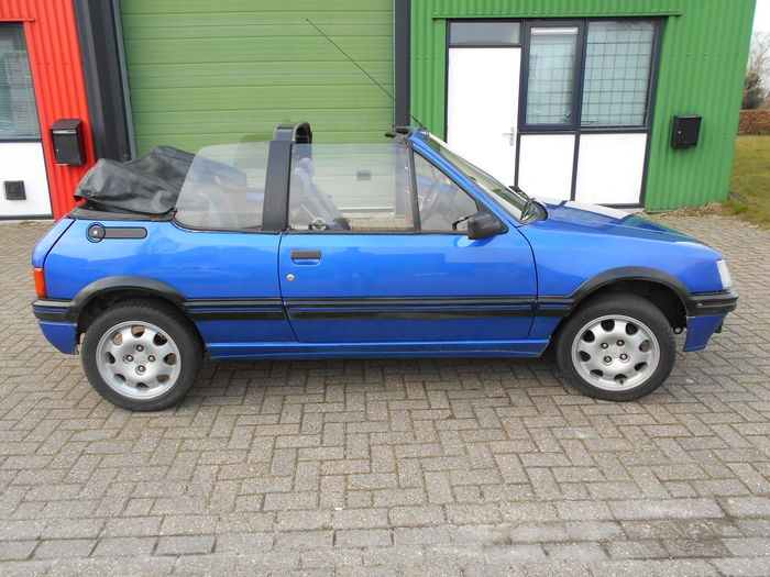 peugeot 205 cti convertible 1987 catawiki. Black Bedroom Furniture Sets. Home Design Ideas