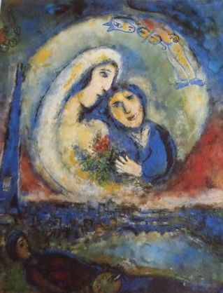 Marc Chagall (1887-1985) (after) - Le songe - Catawiki Chagall Naar Een Ander Licht 1985