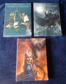 A Game of Thrones 1 t/m 12 + 3x box - sc - (2013/2015)
