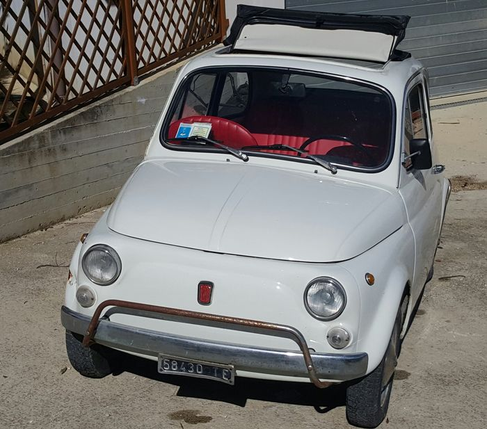 1970 Fiat 500 Luxe For Sale: Fiat 500 L