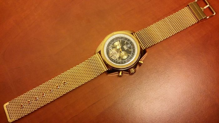 constantin durmont hamburg germany mens wrist watch
