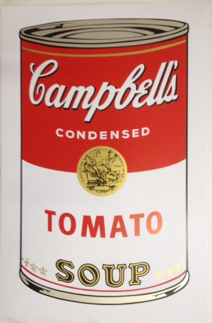 andy warhol after campbell 39 s soup i tomato catawiki. Black Bedroom Furniture Sets. Home Design Ideas