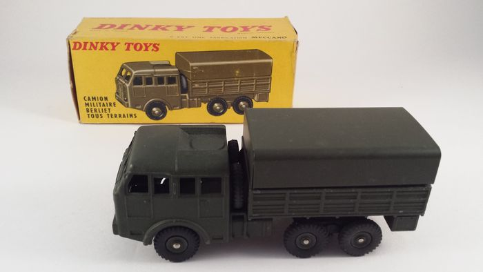 dinky toys scale 1 48 camion militaire berliet tous terrains catawiki. Black Bedroom Furniture Sets. Home Design Ideas