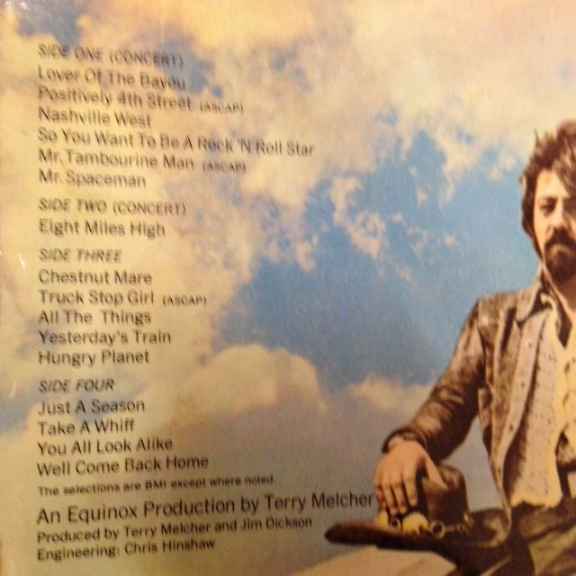 Nice Deal The Byrds Farther Along Ballad Of Easy Rider