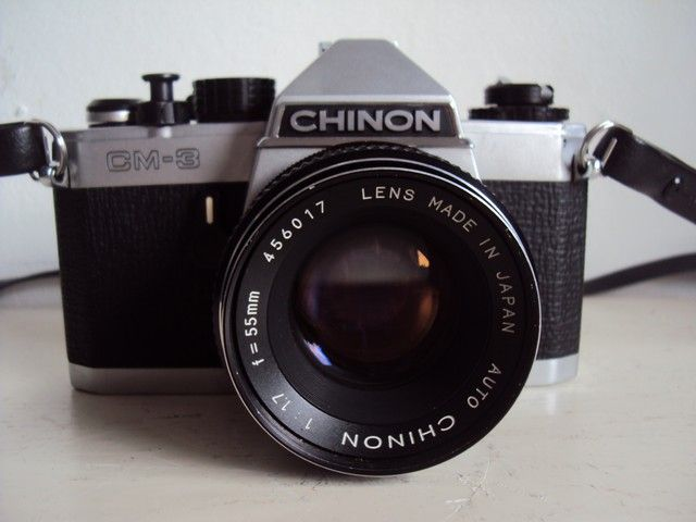 chinon cm 3 camera with f 55mm 1 7 lens catawiki. Black Bedroom Furniture Sets. Home Design Ideas