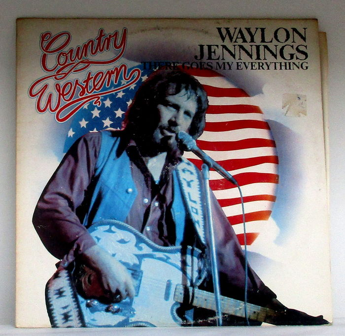 Lot Of Fourteen Waylon Jennings Albums Including Early Us