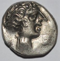 Gallia - Southern. Insubres. mid 2nd century BC. AR drachm