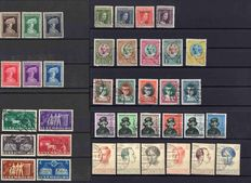 Luxembourg 1924/1951 - 7 complete sets from Michel 148/483
