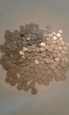 Italy, Kingdom - Lot of 411 coins of 20 Cents 1939/1943 Vittorio Emanuele lll