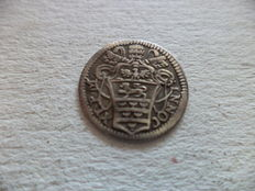"""Papal State - Grosso 1686 """"Nocet Minvs"""" Innocenzo XI - silver"""