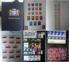 Netherlands 1970/1995 - Collection in Davo III Luxe album and in stock book