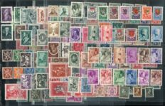 Belgium 1940/1947 - Selection between OBP 538 and 755