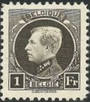 Check out our Belgium 1922 - Small Montenez 1Fr - OBP 214A perforation 11