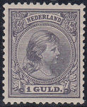 Check out our Netherlands 1891 - Queen Wilhelmina 'Hanging hair' - NVPH 44 with valuation
