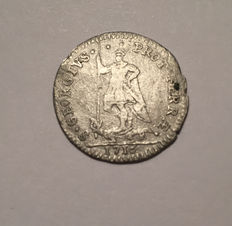 Papal State - Muraiola of 4 Baiocchi Clement XI - mixture