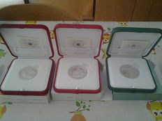 Vatican - Lot of 3 coins of 5 and 10 Euro 2008/2010 - Vatican