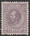 Check out our Netherlands 1875 - King Willem III - NVPH 26H, with valuation certificate