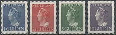 Netherlands 1946 - Queen Wilhelmina type 'Konijnenburg' - NVPH 346/349